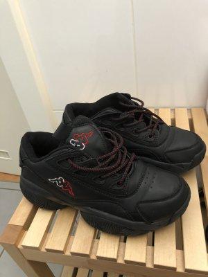 Kappa Sneaker con tacco nero
