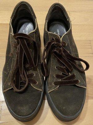Kennel & Schmenger Wedge sneaker donkerbruin-zwart