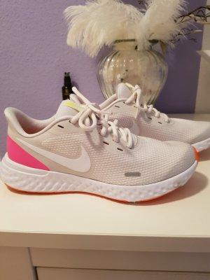sneaker/laufschuhe von Nike weiss/beige