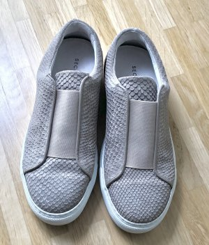 Second Female Slip-on Sneakers multicolored leather