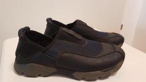 Marni Sneaker slip-on nero-blu scuro