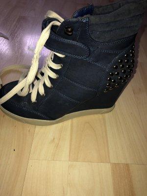 Heel Sneakers dark blue