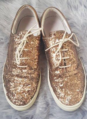 ☆ Sneaker mit Glitzer - Gr. 40 ☆