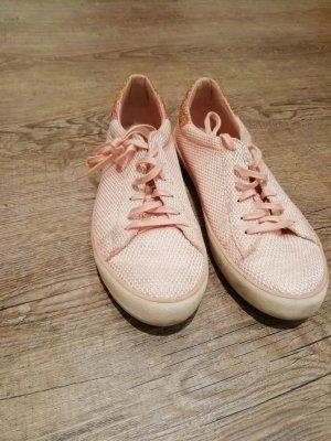 Sneaker mit Glitzerferse