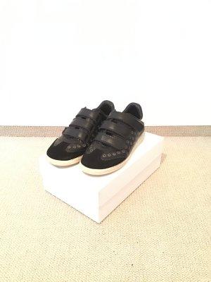 Sneaker mit Klettverschluss in schwarz von Isabel Marant, Gr.40