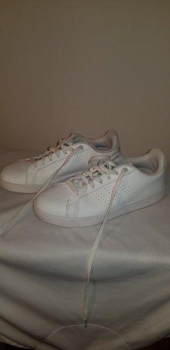 Adidas Originals Basket à lacet blanc-gris clair