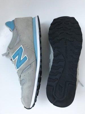 Sneaker, New Balance 373, grau/türkis, Gr. 41 (US 9,5)