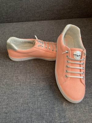Sneaker orange/ silber