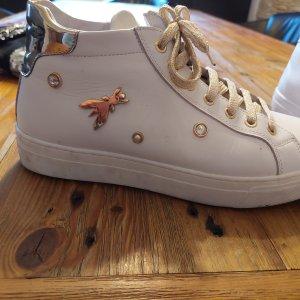 Patrizia Pepe Lace-Up Sneaker white