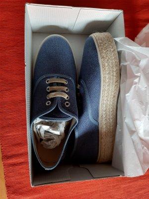 Ella Cruz Sneakers met hak lichtblauw
