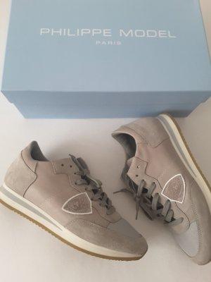 Phillipe model Sneakers met veters licht beige-beige