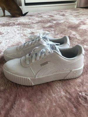 Puma Lace-Up Sneaker white