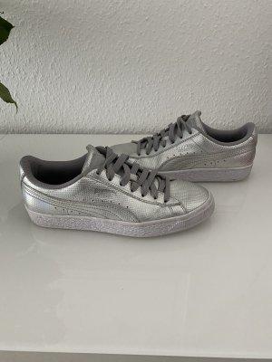 Sneaker Puma basket Silber