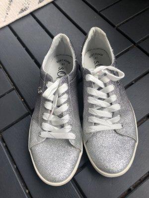 Sneaker s.Oliver Silber Glitzer