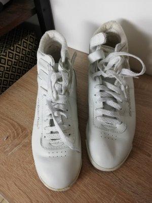 Sneaker Sarbacher Leder weiß Größe 37