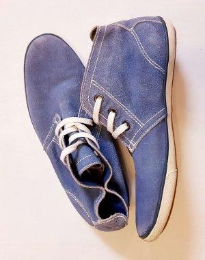 Sneaker Schuhe Blau Wildleder Cliffton neu