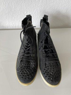 K&B Basket montante noir