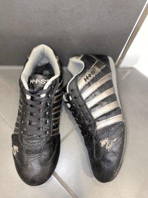 Sneaker schwarz-Silber