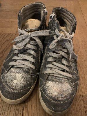Sneaker Silber, Primabase, Grösse 39