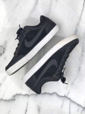 Nike Zapatos de patinador negro-blanco