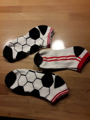 Botas de fieltro blanco-negro