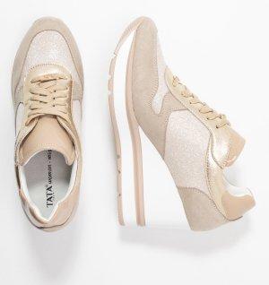 tata italia Sneaker con tacco crema-beige chiaro