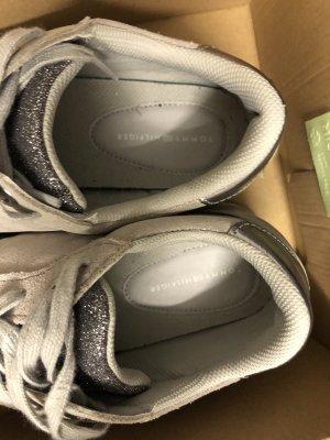 Tommy Hilfiger Zapatillas altas color plata