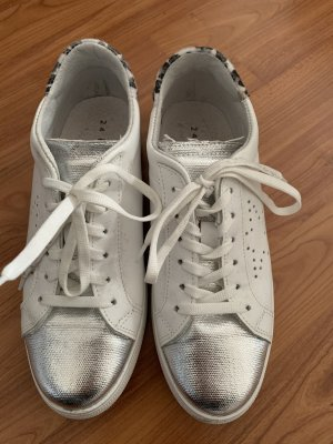24 Hours Zapatilla brogue blanco