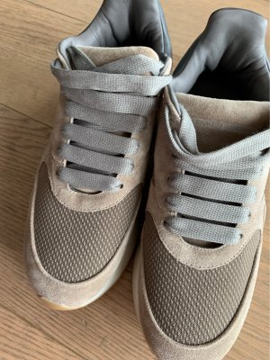 Alexander McQueen Sneakers met veters licht beige-beige