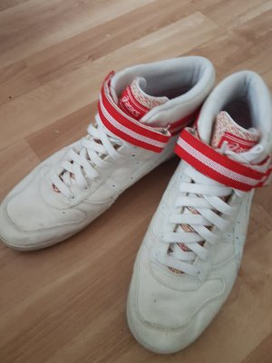 Asics Velcro Sneakers white-red