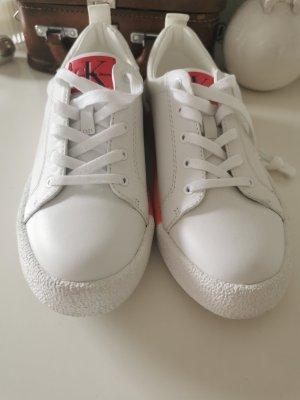 Sneaker von Calvin Klein Jeans 38 weiß