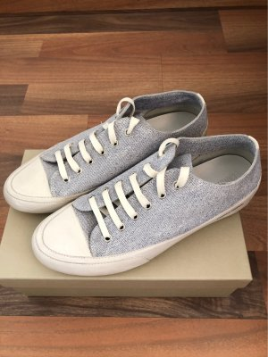 Candice Cooper Sneaker stringata crema-blu acciaio