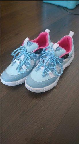 chillegs Sneakers met veters lichtblauw