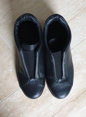 COS Sneaker alta nero Pelle