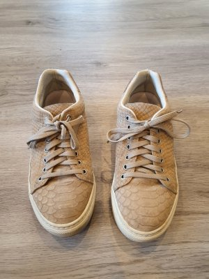 Cox Lace-Up Sneaker camel