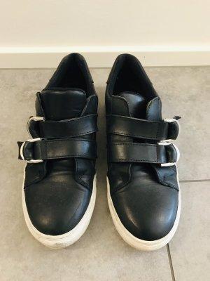 Another A Sneakersy wciągane czarny