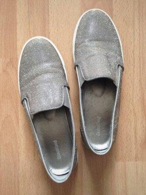 Sneaker von Graceland in Gold und Silber