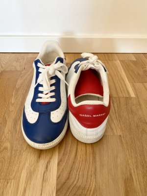 Isabel Marant Lace-Up Sneaker multicolored leather