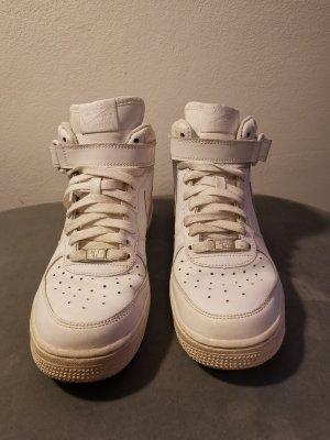 Nike Sneaker alta bianco Pelle