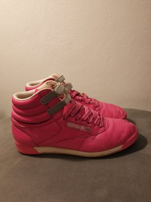 Reebok Sneaker alta rosa