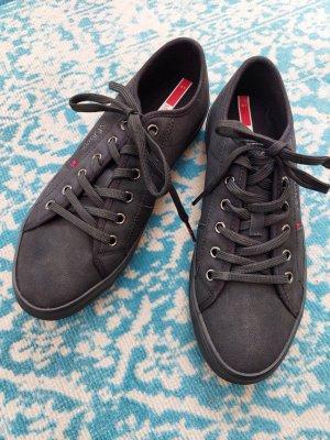 s.Oliver Lace-Up Sneaker black mixture fibre