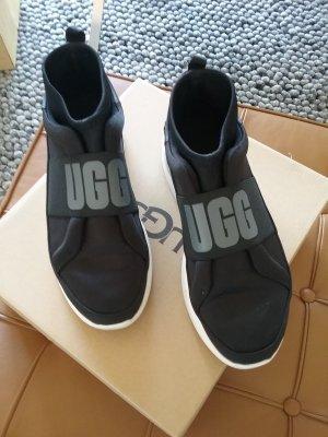 UGG Australia Slip-on Sneakers black mixture fibre