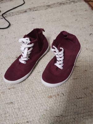 sneaker weinrot