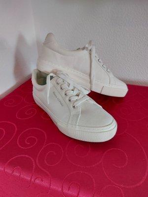 Marco Polo Zapatos de marinero blanco