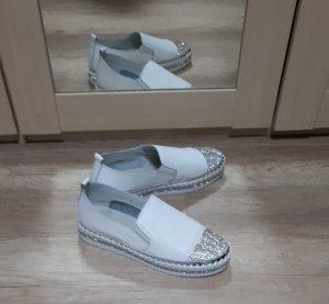 Sneaker  Weiß/Silber Footsoul 40