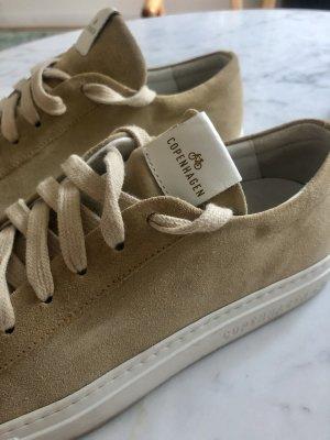 Sneaker Wildleder beige hellgelb
