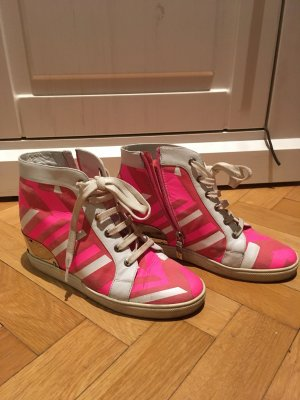 Loriblu Wedge Sneaker multicolored leather