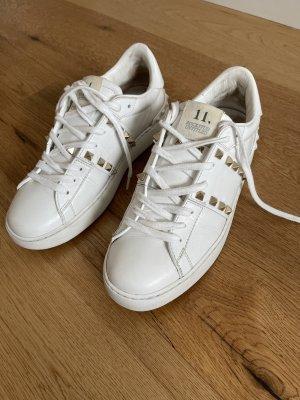 Valentino Platform Trainers white