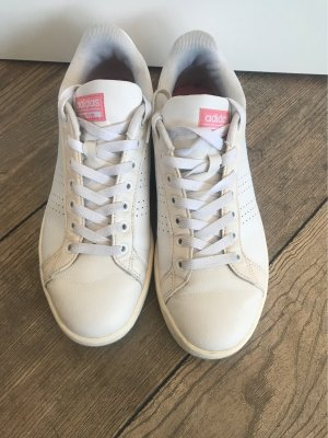 Adidas NEO Lace-Up Sneaker white-pink
