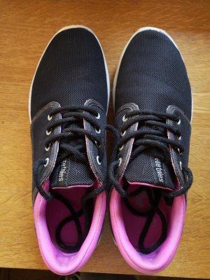 Etnies Lace-Up Sneaker black-pink